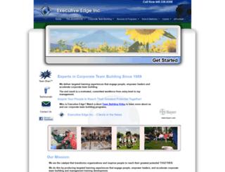 executiveedgeinc.com screenshot