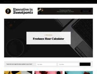 executiveinsweatpants.com screenshot