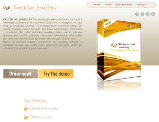 executivejeweller.com screenshot