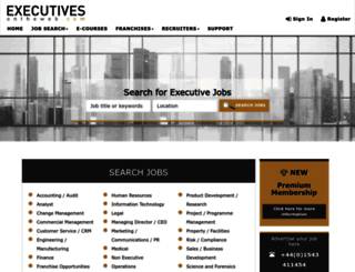 executivesontheweb.com screenshot