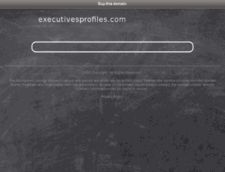 executivesprofiles.com screenshot