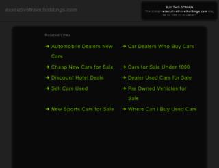 executivetravelholdings.com screenshot