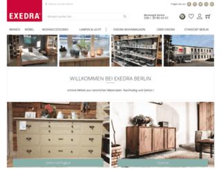 exedra-berlin.de screenshot