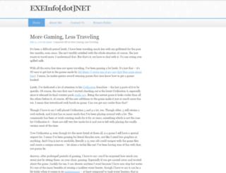 exeinfo.net screenshot