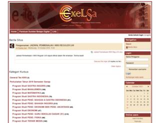 exelsa2012.usd.ac.id screenshot