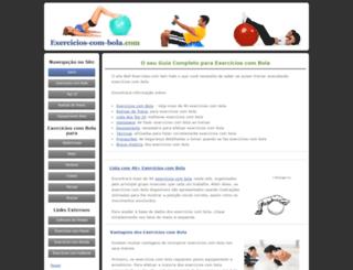 exercicios-com-bola.com screenshot