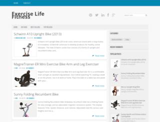 exercise-life-fitness.blogspot.com screenshot
