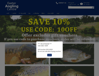exeterangling.co.uk screenshot