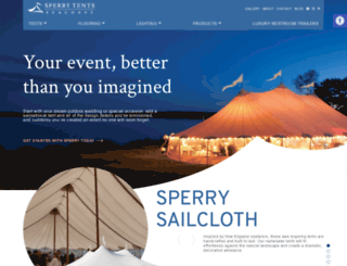 exetereventsandtents.com screenshot