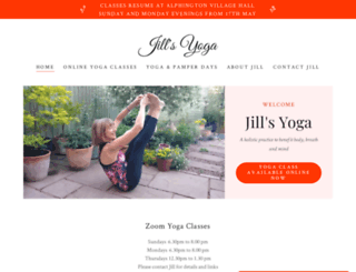 exeteryoga.org screenshot