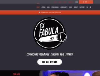exfabula.com screenshot