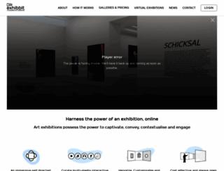 exhibbit.com screenshot