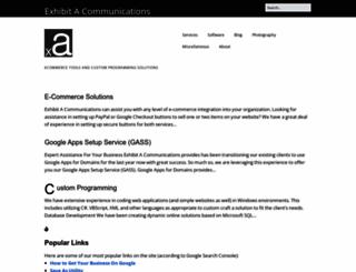 exhibita.com screenshot