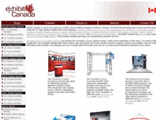 exhibitcanada.com screenshot
