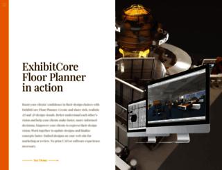 exhibitcore.com screenshot