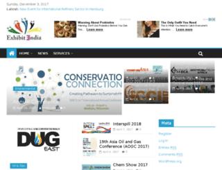 exhibitindia.com screenshot