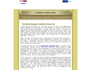exhibitionfurniturehire.4mg.com screenshot