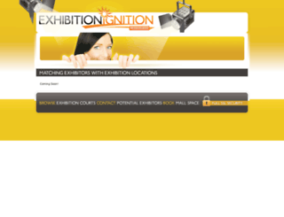 exhibitionignition.co.za screenshot