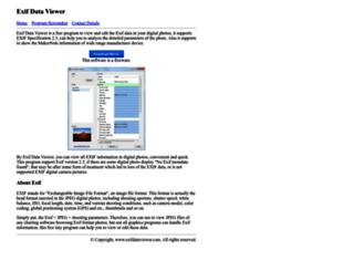 exifdataviewer.com screenshot