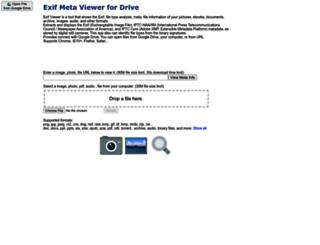 exifviewer.booogle.net screenshot