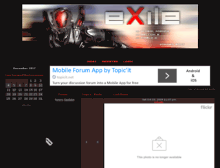 exile-clan.3forum.biz screenshot