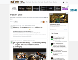 exiled.eu screenshot