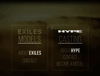 exileshype.com screenshot
