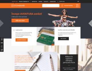 eximbank.md screenshot