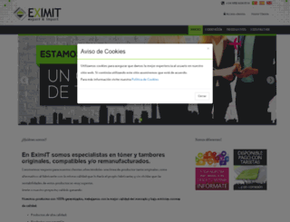 eximit.es screenshot
