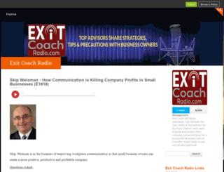 exitcoach.podbean.com screenshot