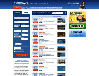 exitnow.ca screenshot