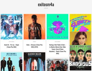 exitosm4a.com screenshot