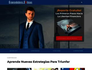 exitosos.com screenshot