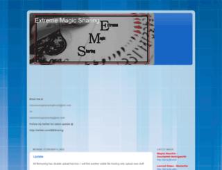 exmagicsharing-ems1.blogspot.com screenshot