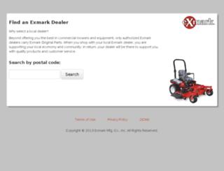 exmarkdealer.calls.net screenshot