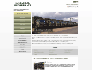 exmilitarysalesuk.com screenshot