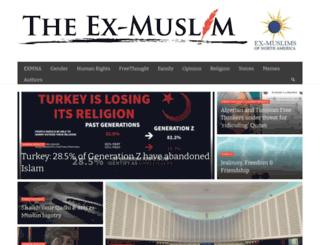 exmuslimblogs.com screenshot