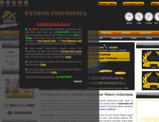 exnessindo.com screenshot