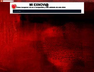 exnoviaexnovio.blogspot.mx screenshot