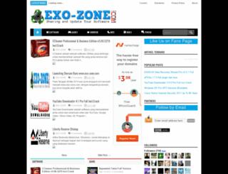 exo-zone.blogspot.com screenshot