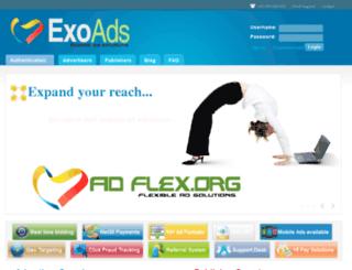 exoads.org screenshot