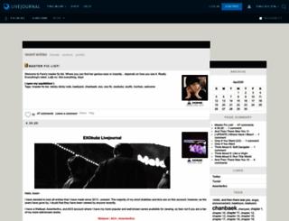 exobubz.livejournal.com screenshot
