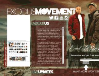 exodusmovement.tv screenshot
