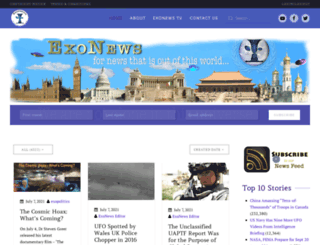 exonews.org screenshot
