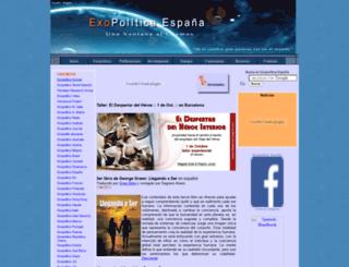 exopoliticsspain.es screenshot