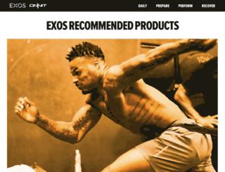 exosfuel.com screenshot
