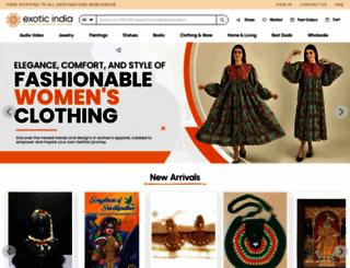 exoticindiaart.com screenshot