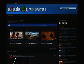 exp.de screenshot
