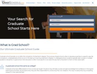 exp1.gradschools.com screenshot