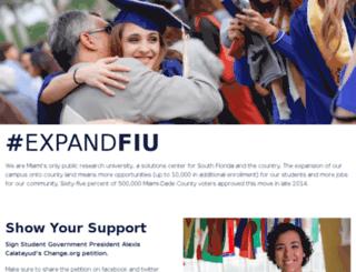 expand.fiu.edu screenshot